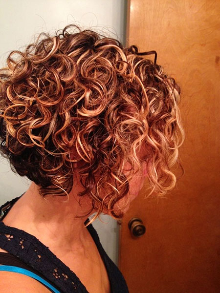 Perm Short Hair, Curly Short Hair Hairtyles