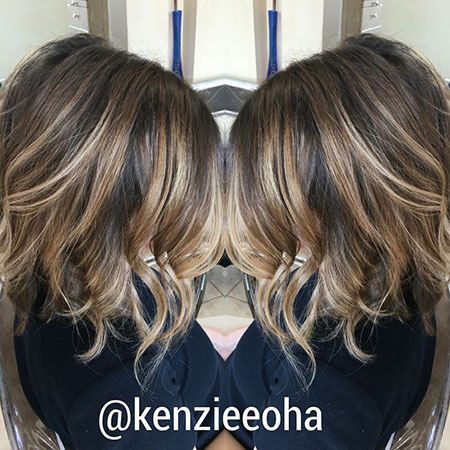 Ash Blonde Balayage, Balayage Hair Brown Short
