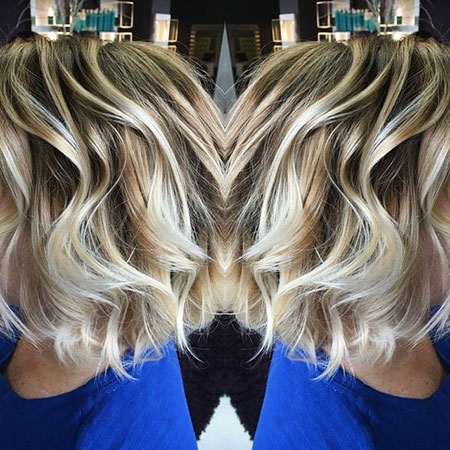 Soft Waves, Hair Blonde Bobs Color
