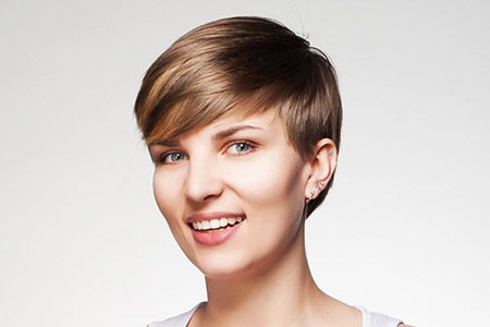 Pixie Girl, Cute Short Side Bangs