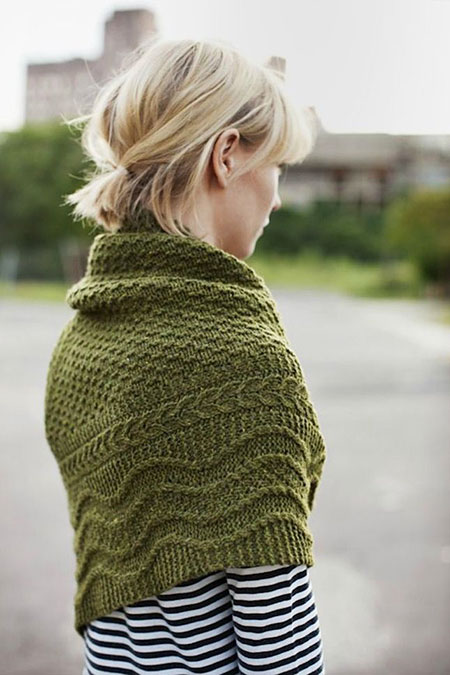 Cute Messy Pony, Short Messy Patterns Knitting