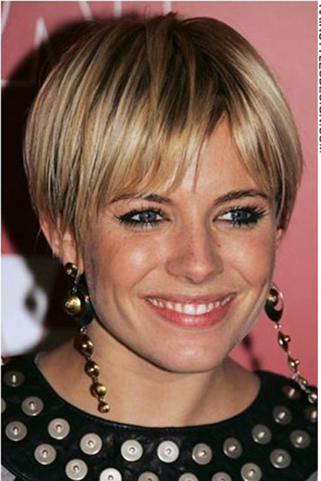 Fine Pixie, Short Hair Funky Color