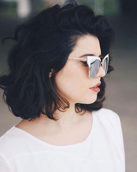 Hair Short Casual Bobs