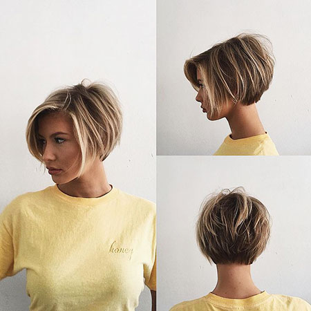 Pixie Layered Bob Short