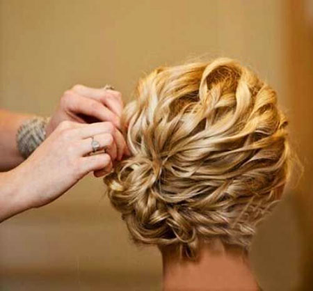 Wedding Hair Updos Short
