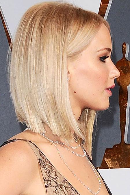 Jennifer Lawrence Short Hairtyles, Hairtyles Hair Shaggy Bob