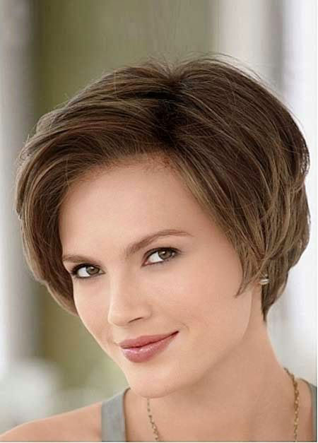 Short Hairtyle for Round Faces, Hair Short Hairtyles Women