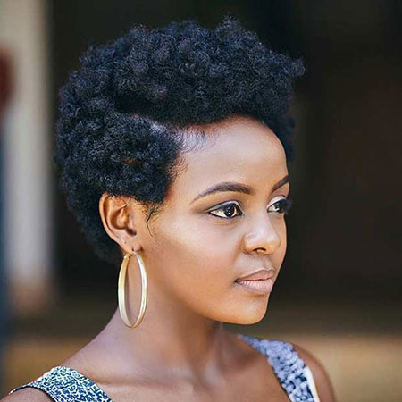 20 Short Natural Hairstyles For Black Women Short