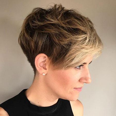Pixie Layered Messy Cut