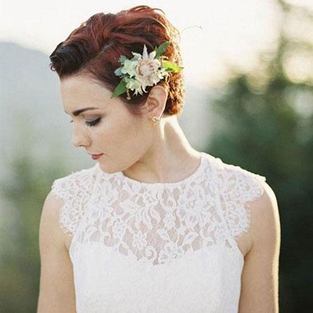 Wedding Bridal Flower Hair
