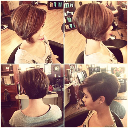 Hair Layered Short Pixie