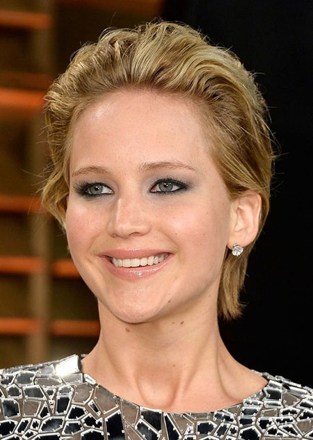 Celebrity Jennifer Lawrence Makeup
