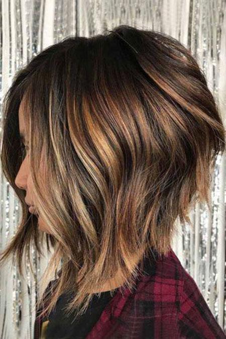 Balayage Hair Brown Bob