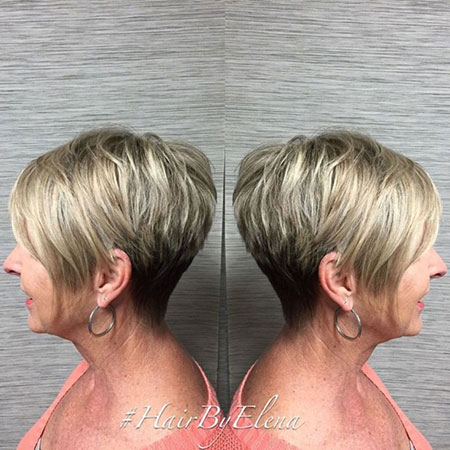 Pixie Cut Bob Tapered