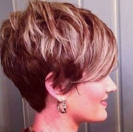 Blonde Pixie Hair Short