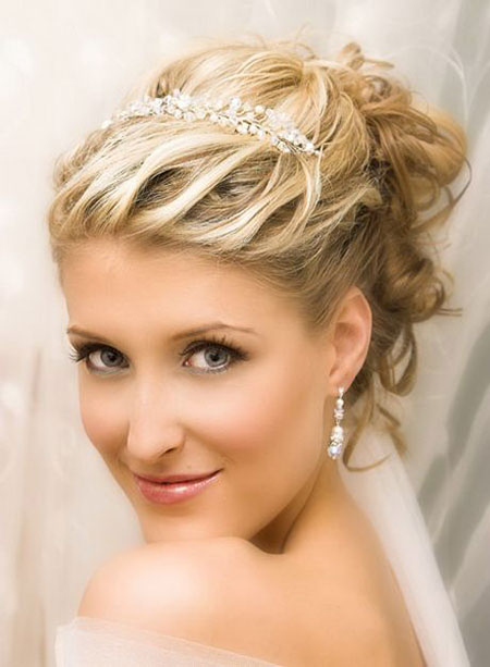 Hair Wedding Bridal Short
