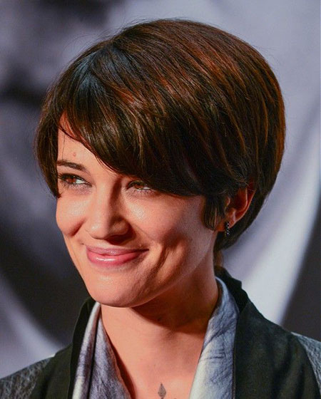 Hair Pixie Brown Texture