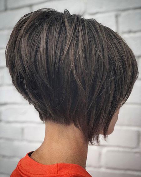 Bob Blonde Brown Hair