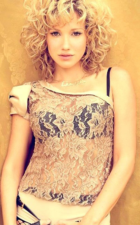Curly Hair Short Styles