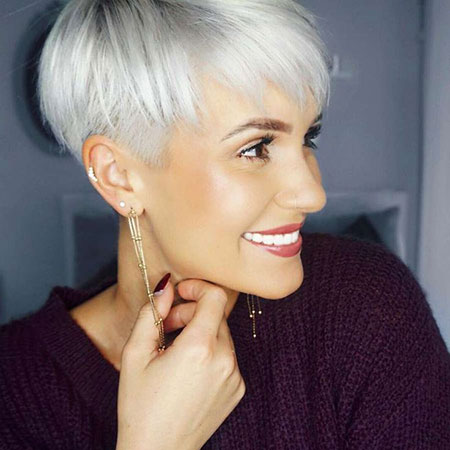 Pixie Undercut Cut Choppy