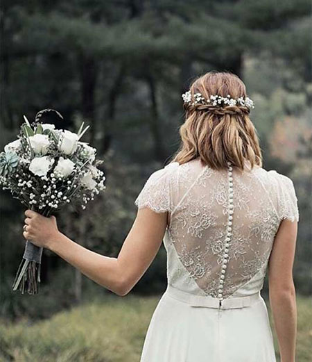 Wedding Up Half Bridal