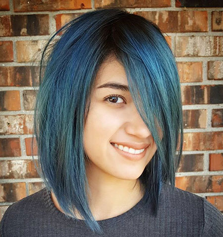 Hair Blue Color Hairtyles