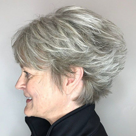 Pixie Choppy Balayage Layered