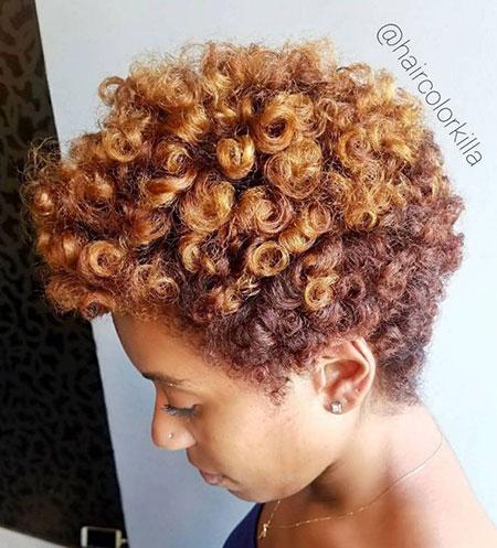 20 kurze natürliche Frisuren für schwarze Frauen