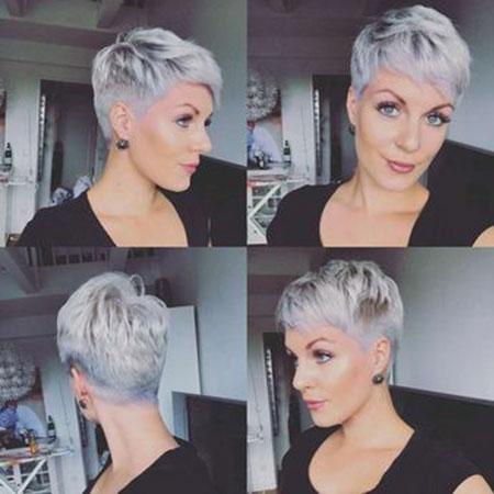 Pixie Hair Short Undercut