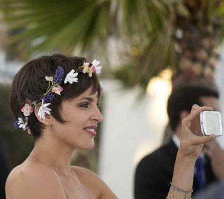 Wedding Bridal Hair Side