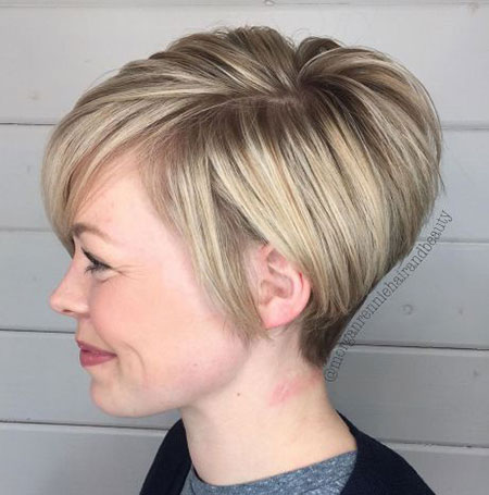 Pixie Choppy Bob Long