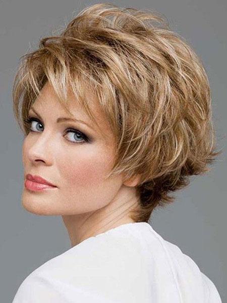 Hair Short Face Women
