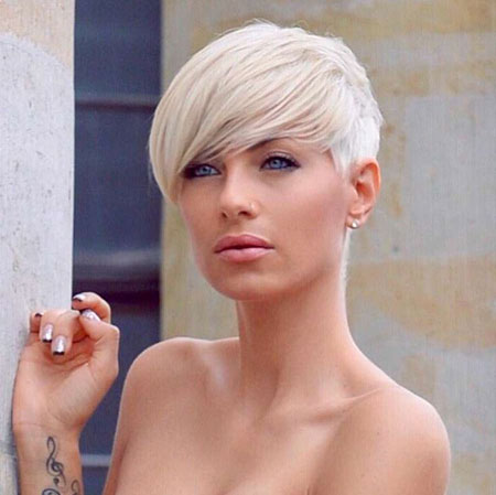 Hair Short Pixie Undercut