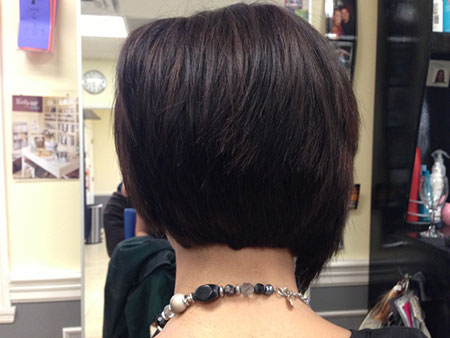 Bob Short Brown Asymmetrical