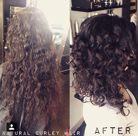Curly Hair Medium Styles