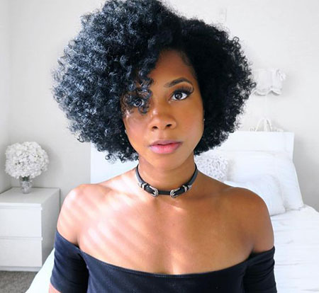 20 short natural hairstyles for black women  short