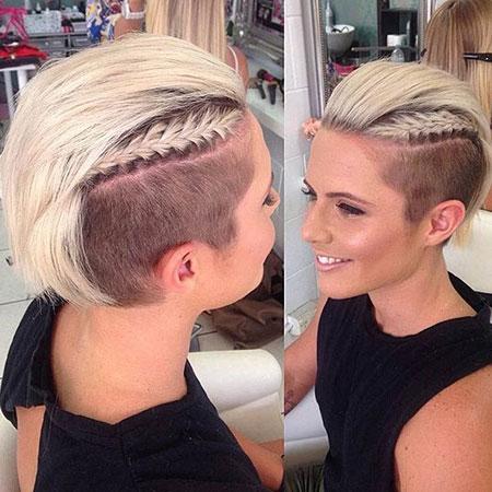 Side Shaved, Hair Hairtyles Short Blonde