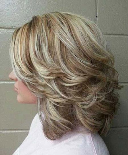 Layered Medium Hair, Hairtyles Layered Hair Haircuts