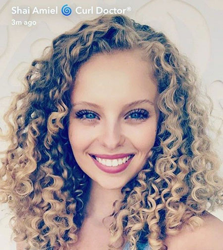 Curly Hair Styles Type