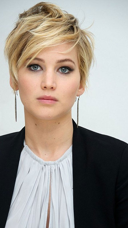 Hair Short Jennifer Lawrence