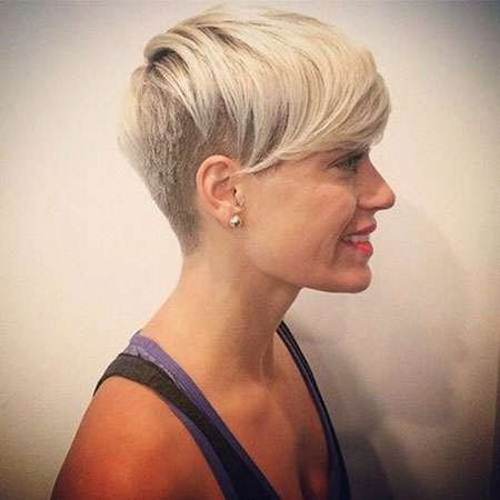 Pixie Short Shaved Hair
