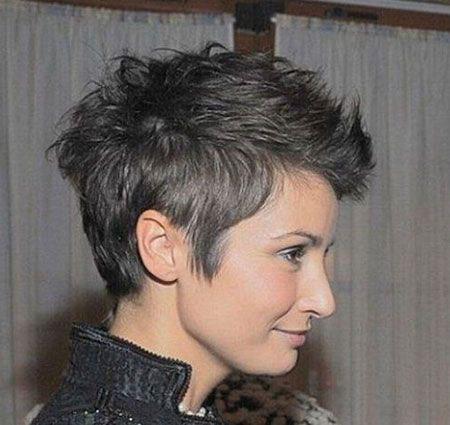 Pixie Choppy Short Cut