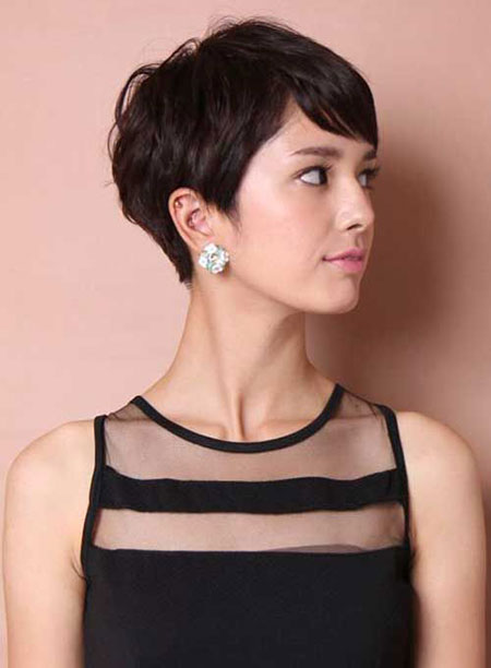 Cute Short Hair, Hair Pixie Short Asian