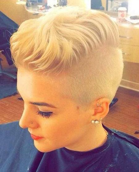 Modern Hairtyle, Pixie Shaved Undercut Hair
