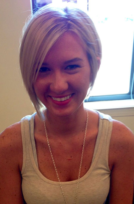 Fine Straight Blonde Hair, Hair Short Pixie Bob
