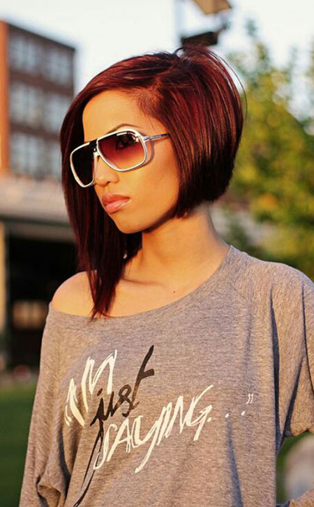 Chic Long Bob, Bob Hair Bobs Choppy