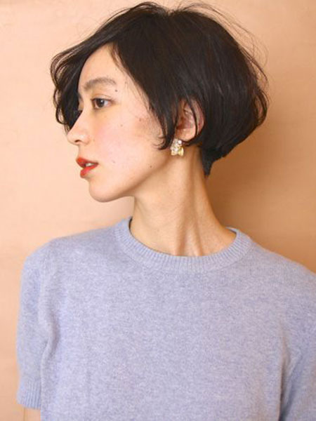 Japanese Short Hair, Short Bob Hair Simple