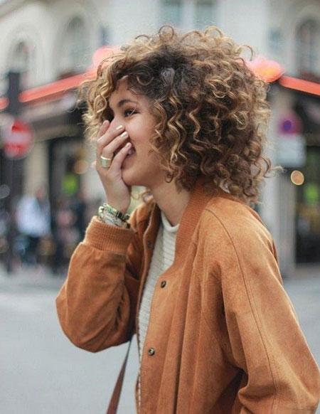 Curly Hair Curls Short