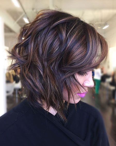 Bob Balayage Medium Hair