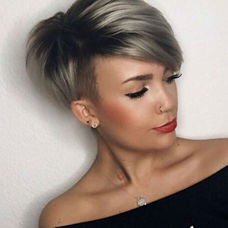 Pixie Hair Layered Red